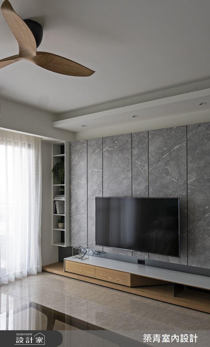 40坪預售屋_北歐風客廳案例圖片_築青室內裝修有限公司_築青_53之5