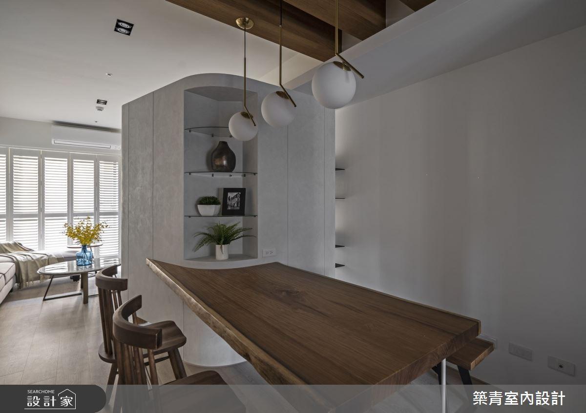 40坪新成屋(5年以下)_鄉村風餐廳案例圖片_築青室內裝修有限公司_築青_56之11