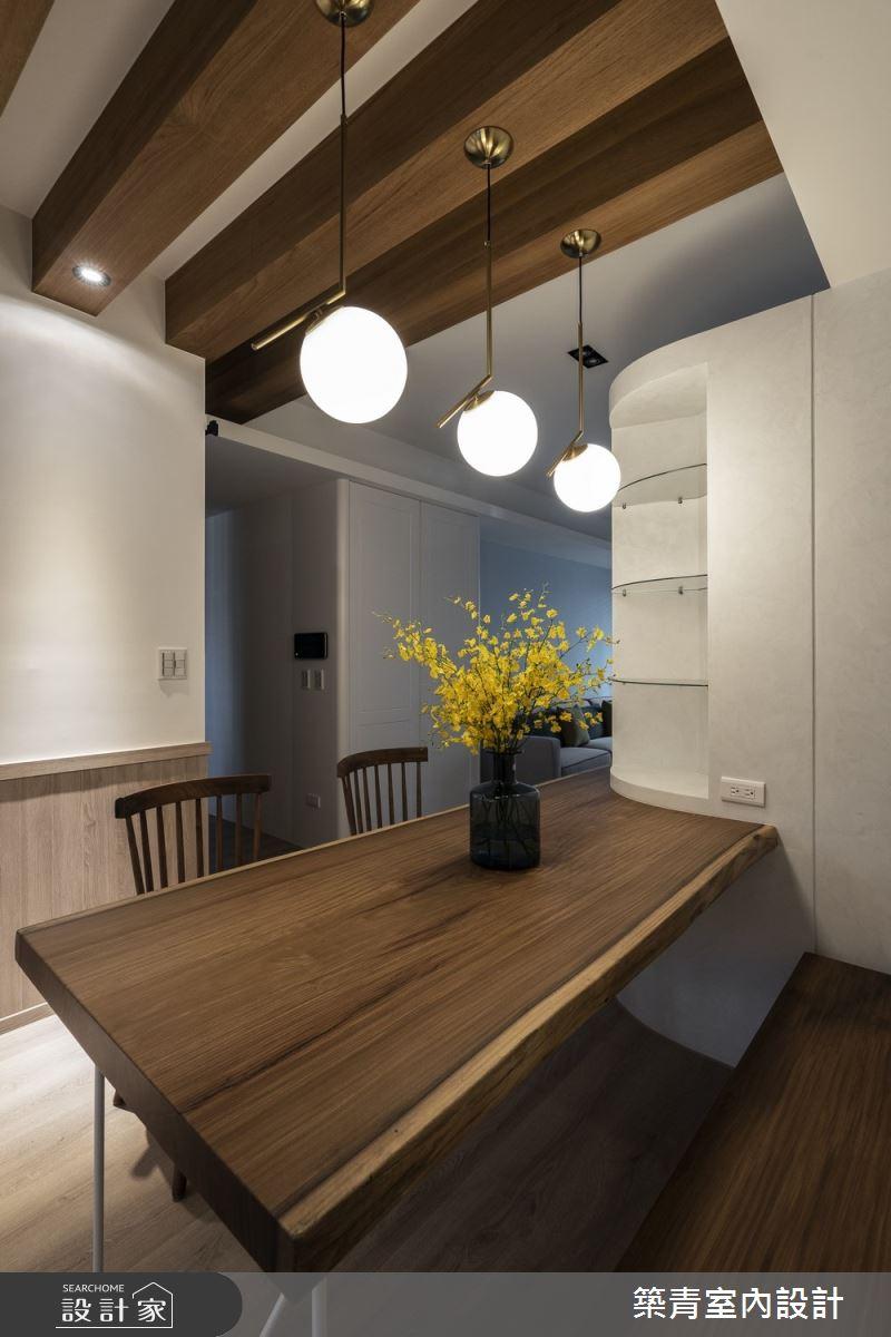 40坪新成屋(5年以下)_鄉村風餐廳案例圖片_築青室內裝修有限公司_築青_56之14