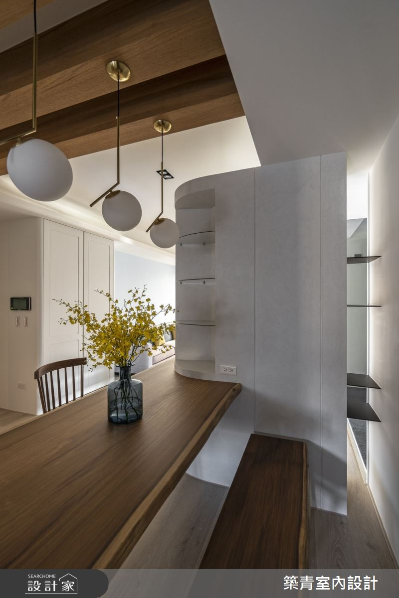 40坪新成屋(5年以下)_鄉村風餐廳案例圖片_築青室內裝修有限公司_築青_56之13