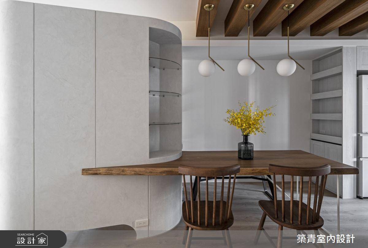 40坪新成屋(5年以下)_鄉村風餐廳案例圖片_築青室內裝修有限公司_築青_56之16