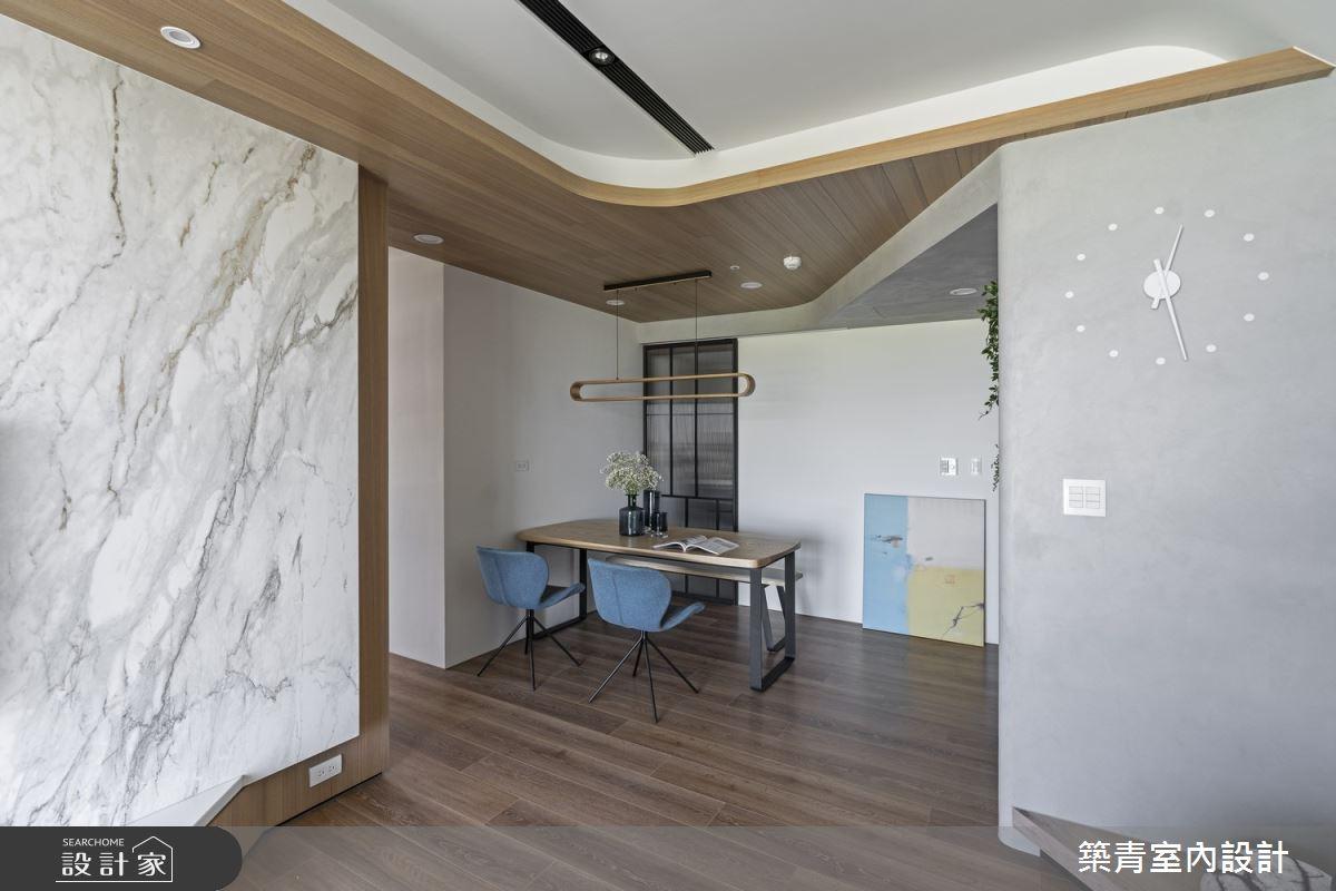 40坪新成屋(5年以下)_現代風餐廳案例圖片_築青室內裝修有限公司_築青_57之4