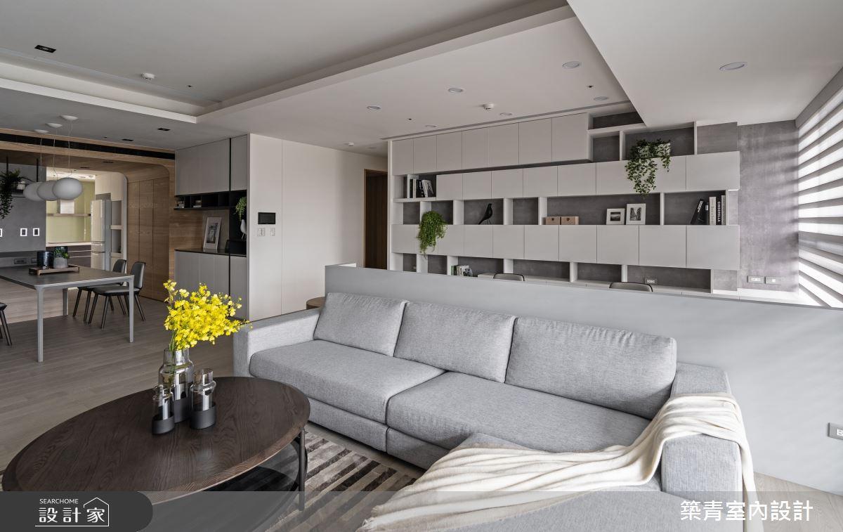 48坪新成屋(5年以下)_現代風客廳案例圖片_築青室內裝修有限公司_築青_61之8