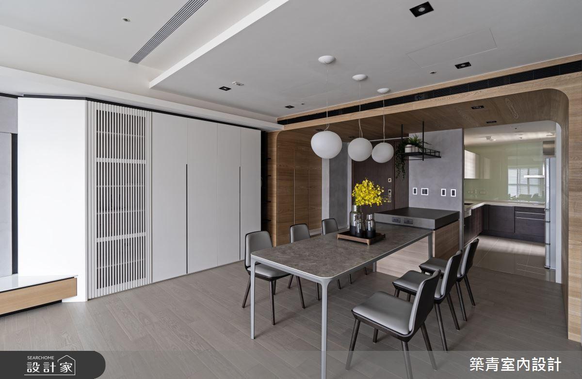 48坪新成屋(5年以下)_現代風餐廳案例圖片_築青室內裝修有限公司_築青_61之19