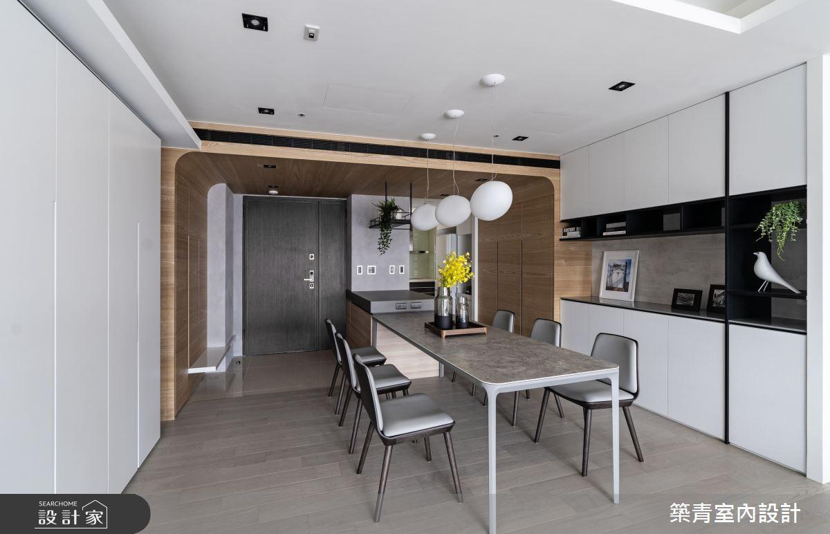 48坪新成屋(5年以下)_現代風餐廳案例圖片_築青室內裝修有限公司_築青_61之17