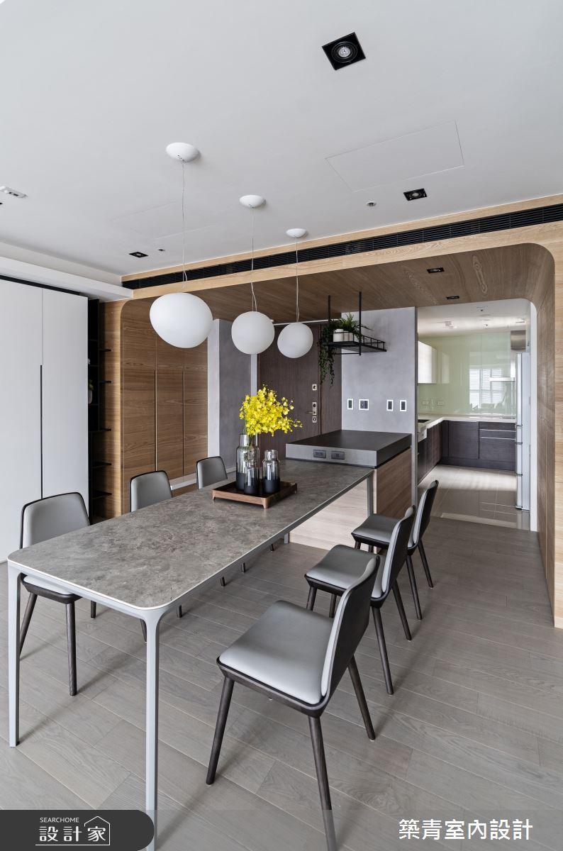 48坪新成屋(5年以下)_現代風餐廳案例圖片_築青室內裝修有限公司_築青_61之20
