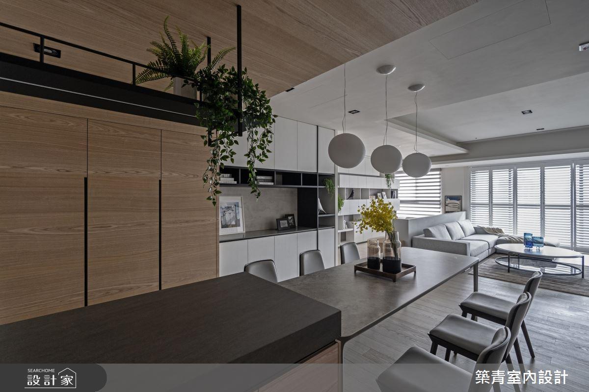 48坪新成屋(5年以下)_現代風餐廳案例圖片_築青室內裝修有限公司_築青_61之14