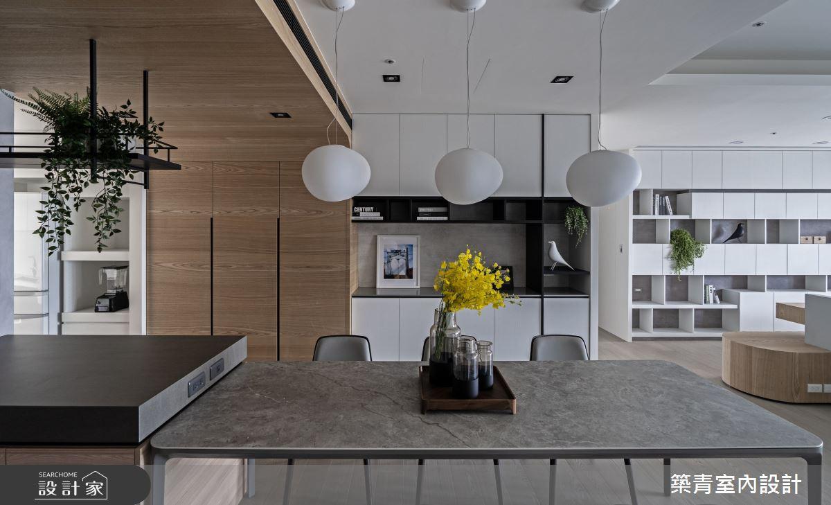 48坪新成屋(5年以下)_現代風餐廳案例圖片_築青室內裝修有限公司_築青_61之15