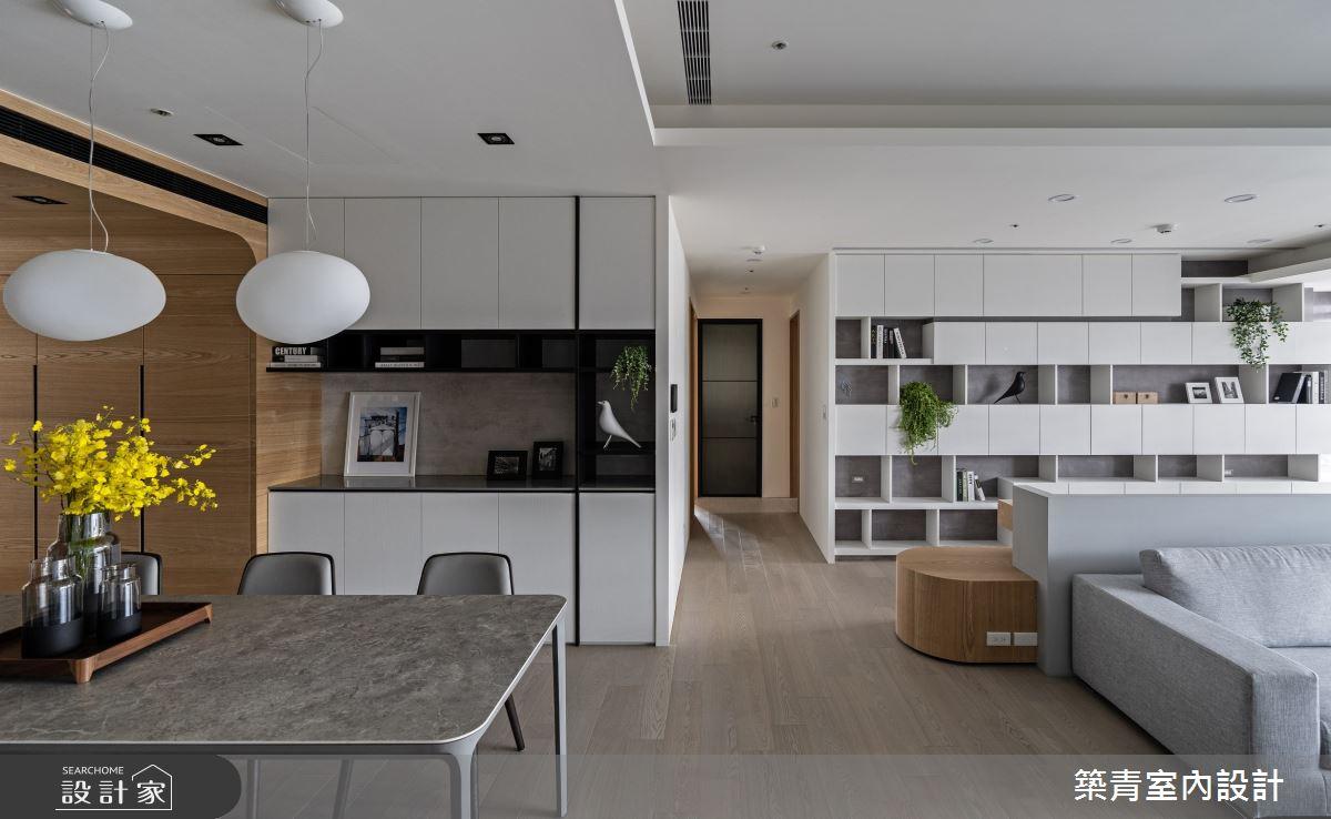 48坪新成屋(5年以下)_現代風餐廳案例圖片_築青室內裝修有限公司_築青_61之12