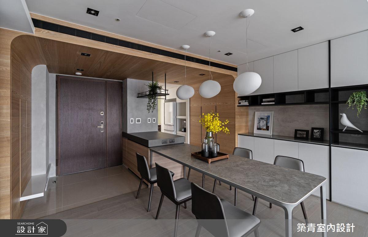 48坪新成屋(5年以下)_現代風餐廳案例圖片_築青室內裝修有限公司_築青_61之16