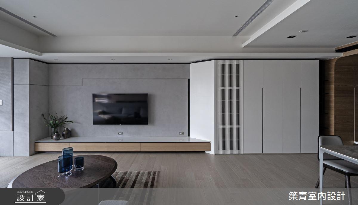 48坪新成屋(5年以下)_現代風客廳案例圖片_築青室內裝修有限公司_築青_61之4