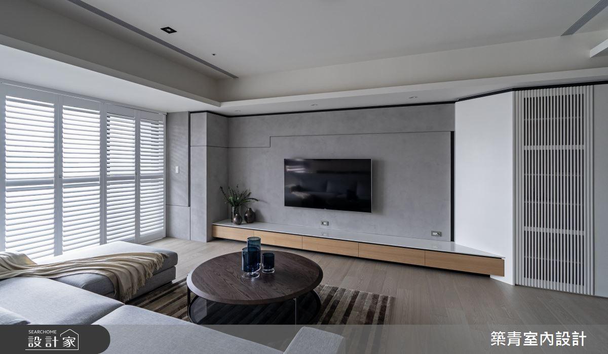 48坪新成屋(5年以下)_現代風客廳案例圖片_築青室內裝修有限公司_築青_61之2