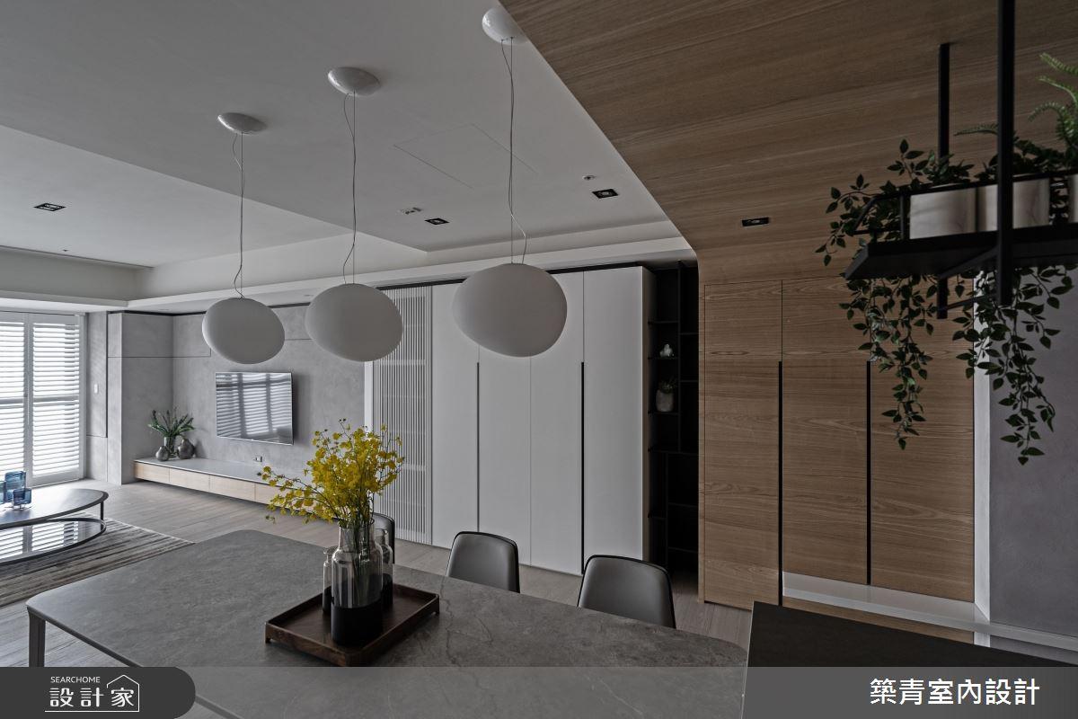 48坪新成屋(5年以下)_現代風餐廳案例圖片_築青室內裝修有限公司_築青_61之21