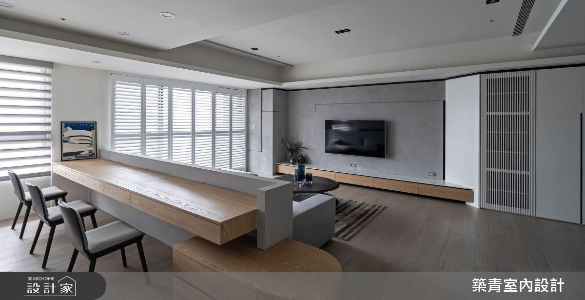 48坪新成屋(5年以下)_現代風書房案例圖片_築青室內裝修有限公司_築青_61之9