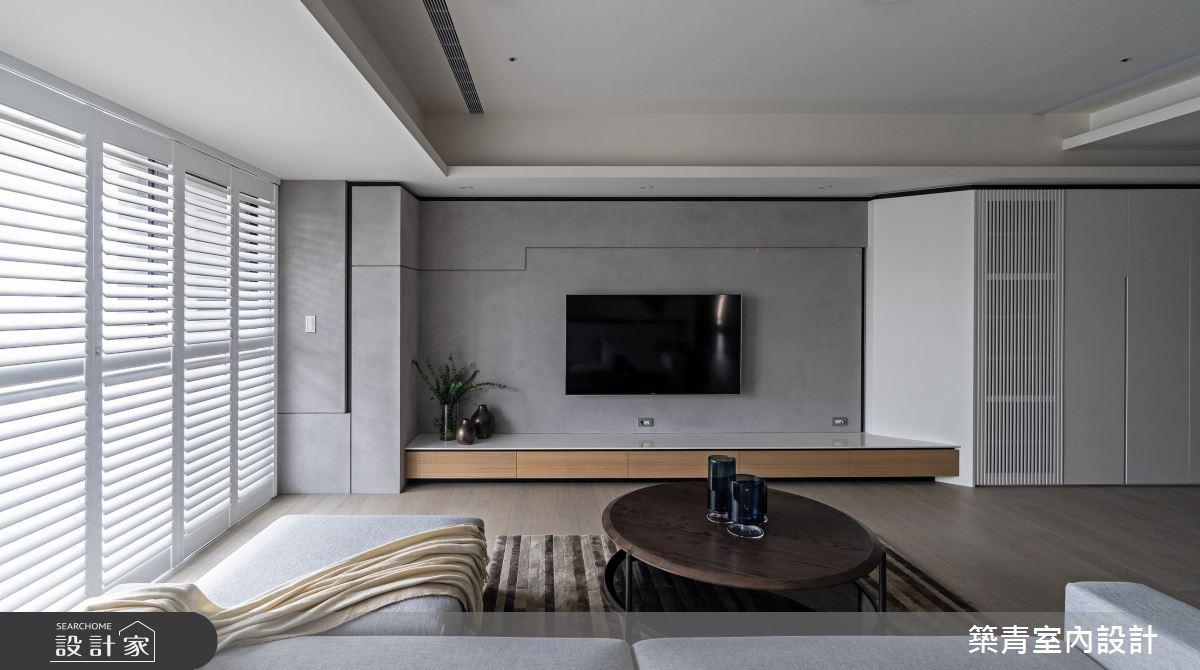 48坪新成屋(5年以下)_現代風客廳案例圖片_築青室內裝修有限公司_築青_61之3