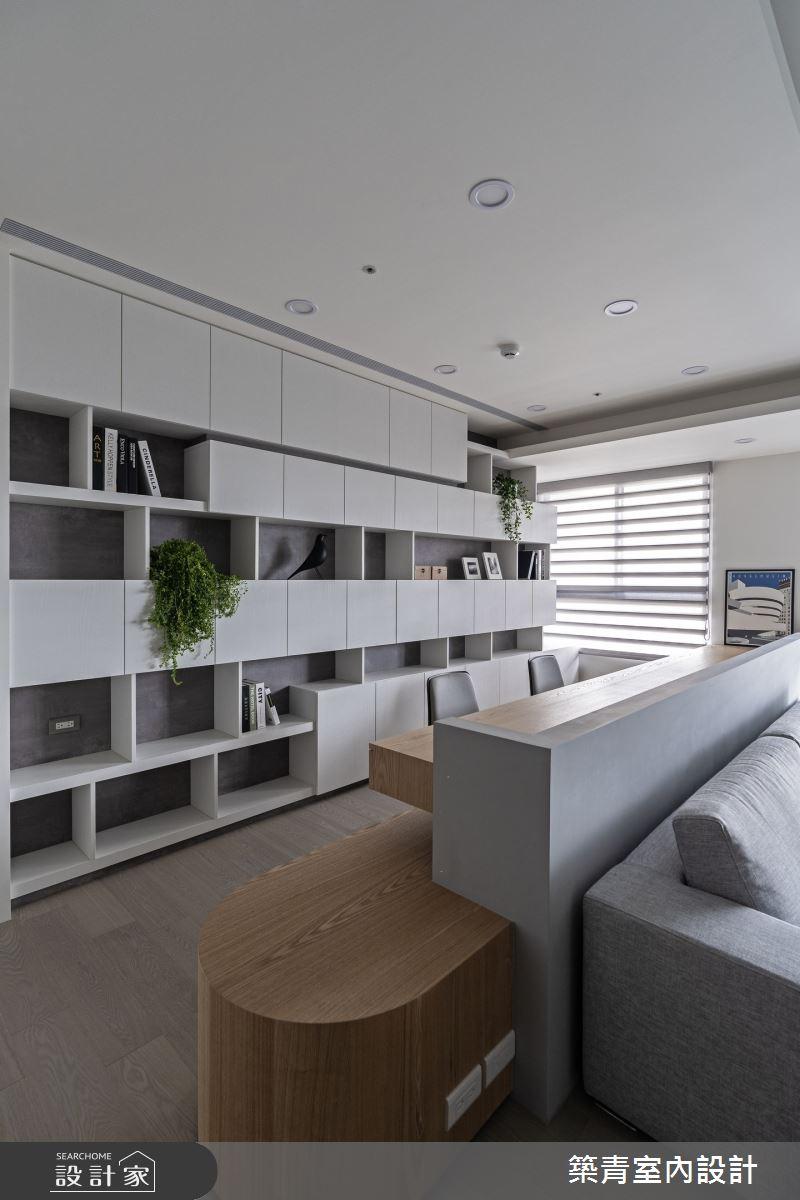 48坪新成屋(5年以下)_現代風書房案例圖片_築青室內裝修有限公司_築青_61之10