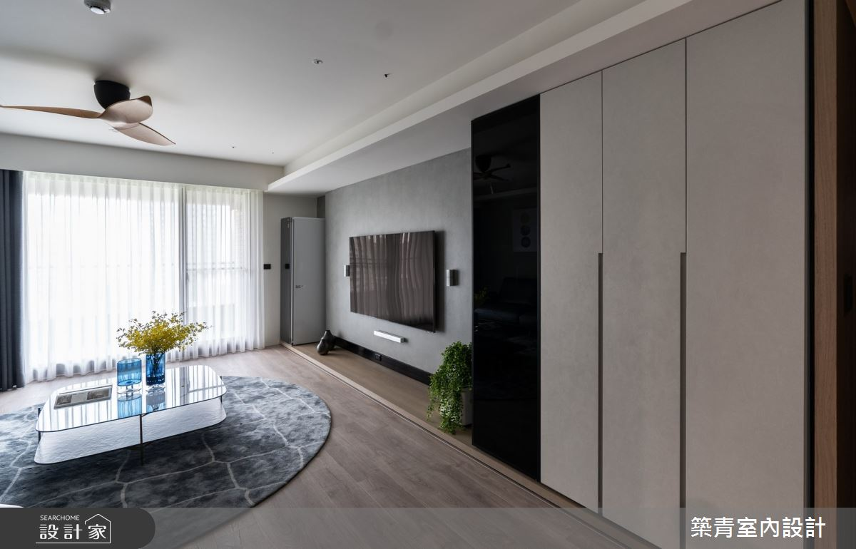 48坪新成屋(5年以下)_現代風案例圖片_築青室內裝修有限公司_築青_62之2
