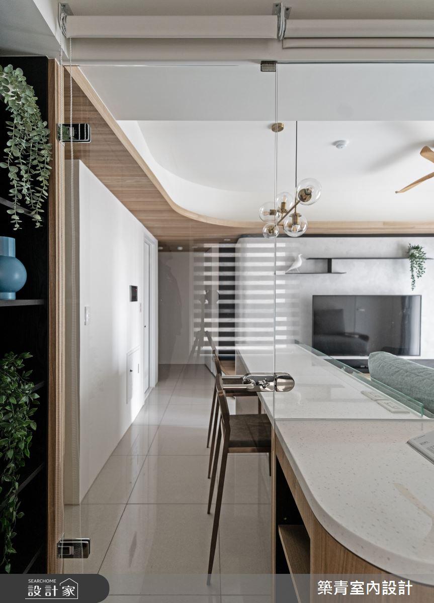 21坪新成屋(5年以下)_現代風餐廳中島案例圖片_築青室內裝修有限公司_築青_63之20