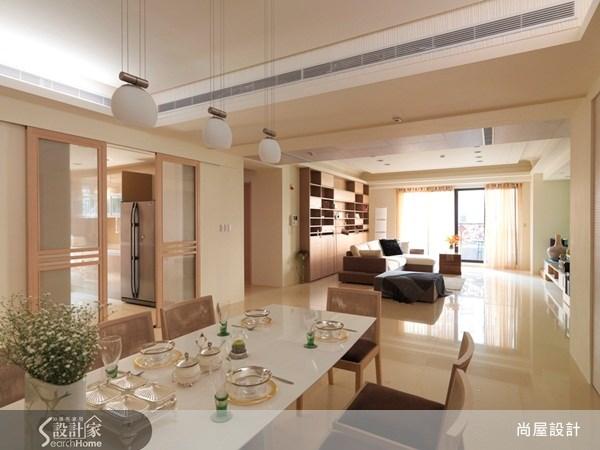 110坪新成屋(5年以下)_現代風餐廳案例圖片_尚屋設計_尚屋_05之3