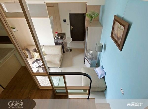 10坪新成屋(5年以下)_現代風樓梯案例圖片_尚屋設計_尚屋_06之4
