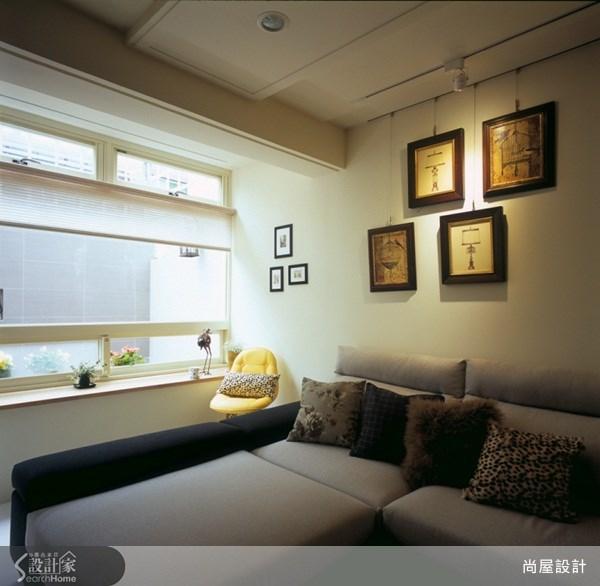 80坪老屋(16~30年)_鄉村風臥室案例圖片_尚屋設計_尚屋_09之3