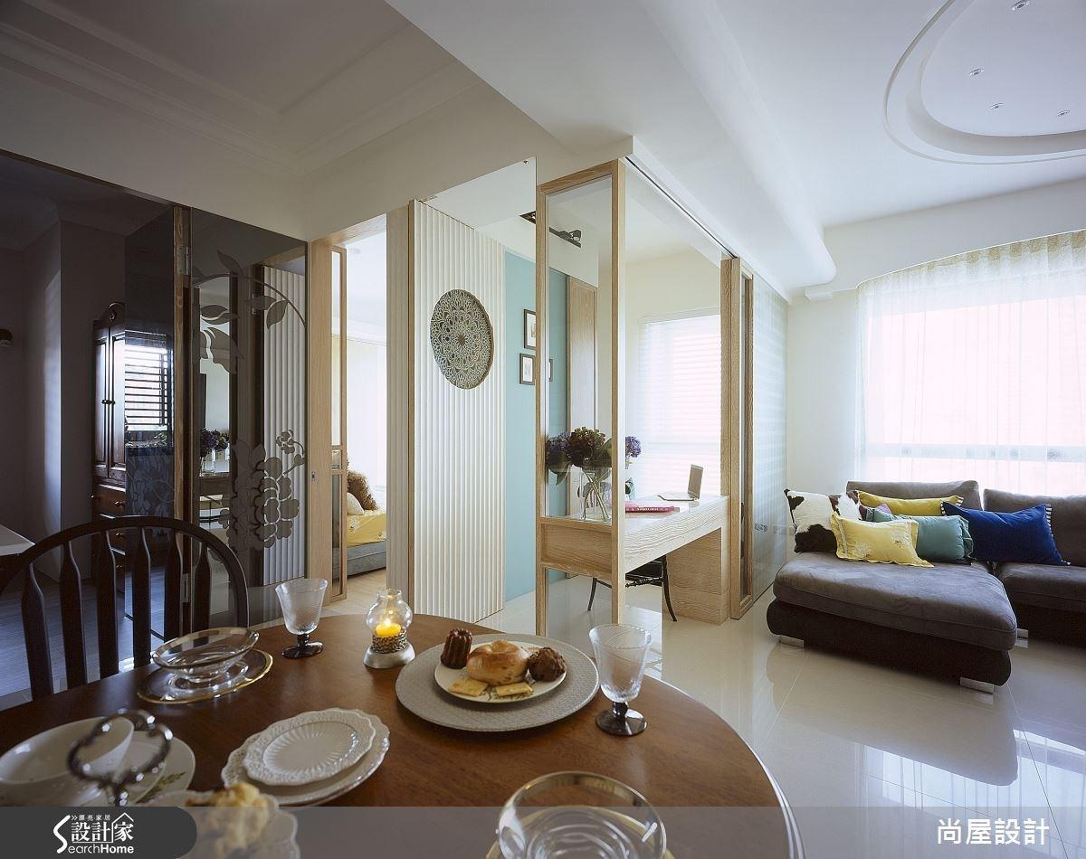 30坪新成屋(5年以下)_美式風餐廳案例圖片_尚屋設計_尚屋_11之3