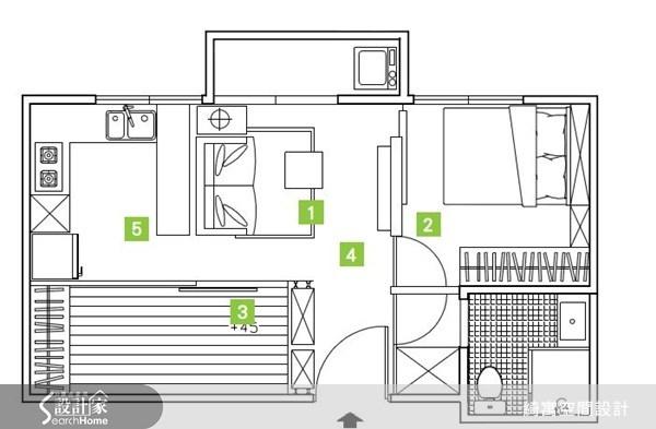 12坪中古屋(5~15年)_北歐風案例圖片_綺寓空間設計_綺寓_12之14