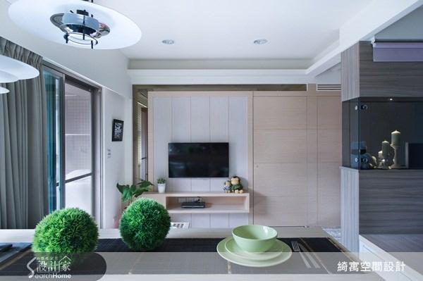 12坪中古屋(5~15年)_北歐風客廳案例圖片_綺寓空間設計_綺寓_12之3