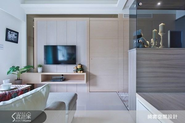 12坪中古屋(5~15年)_北歐風客廳案例圖片_綺寓空間設計_綺寓_12之4