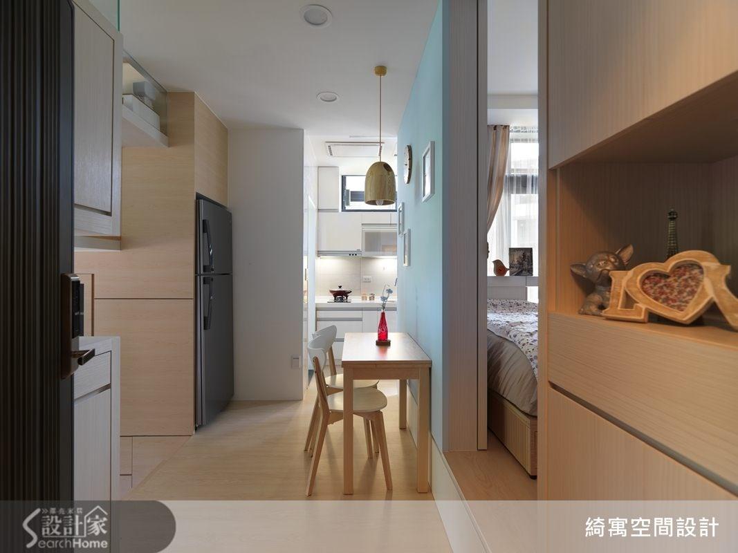 12坪新成屋(5年以下)_北歐風餐廳案例圖片_綺寓空間設計_綺寓_05之2