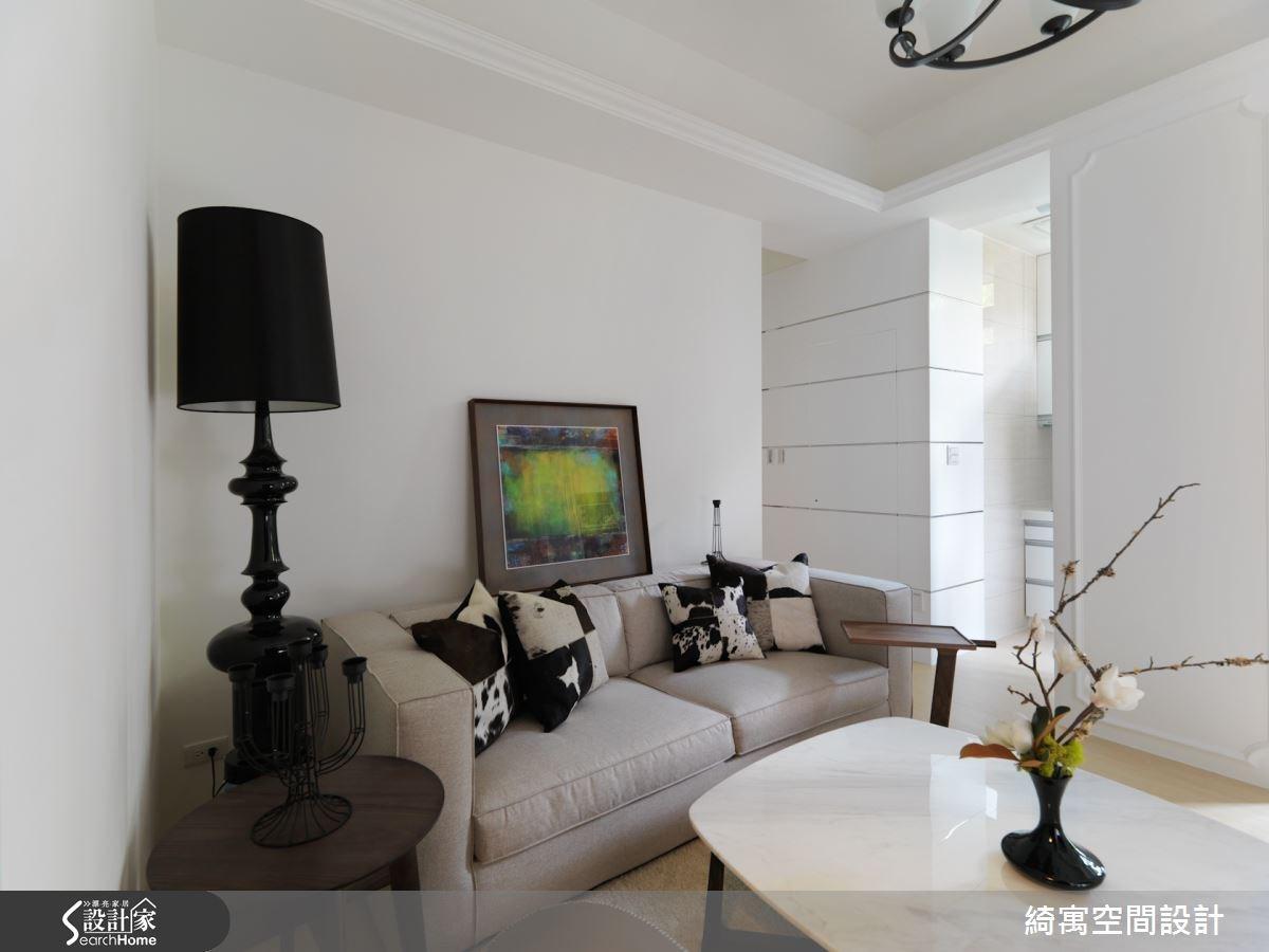 12坪新成屋(5年以下)_美式風客廳案例圖片_綺寓空間設計_綺寓_11之3