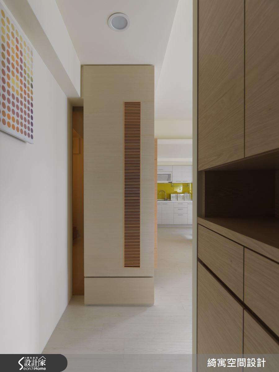 17坪老屋(16~30年)_現代風玄關案例圖片_綺寓空間設計_綺寓_04之1
