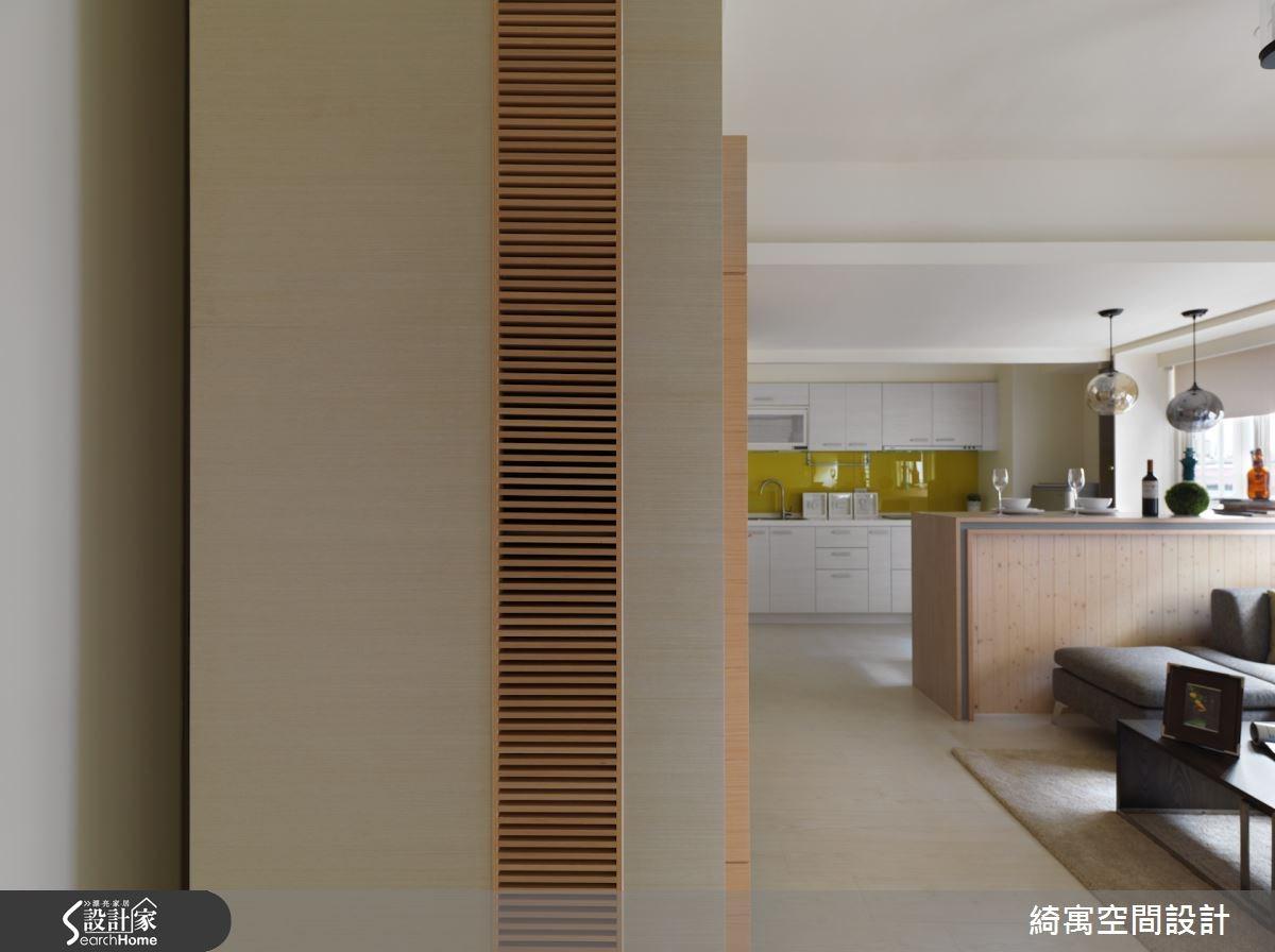 17坪老屋(16~30年)_現代風玄關客廳廚房案例圖片_綺寓空間設計_綺寓_04之2