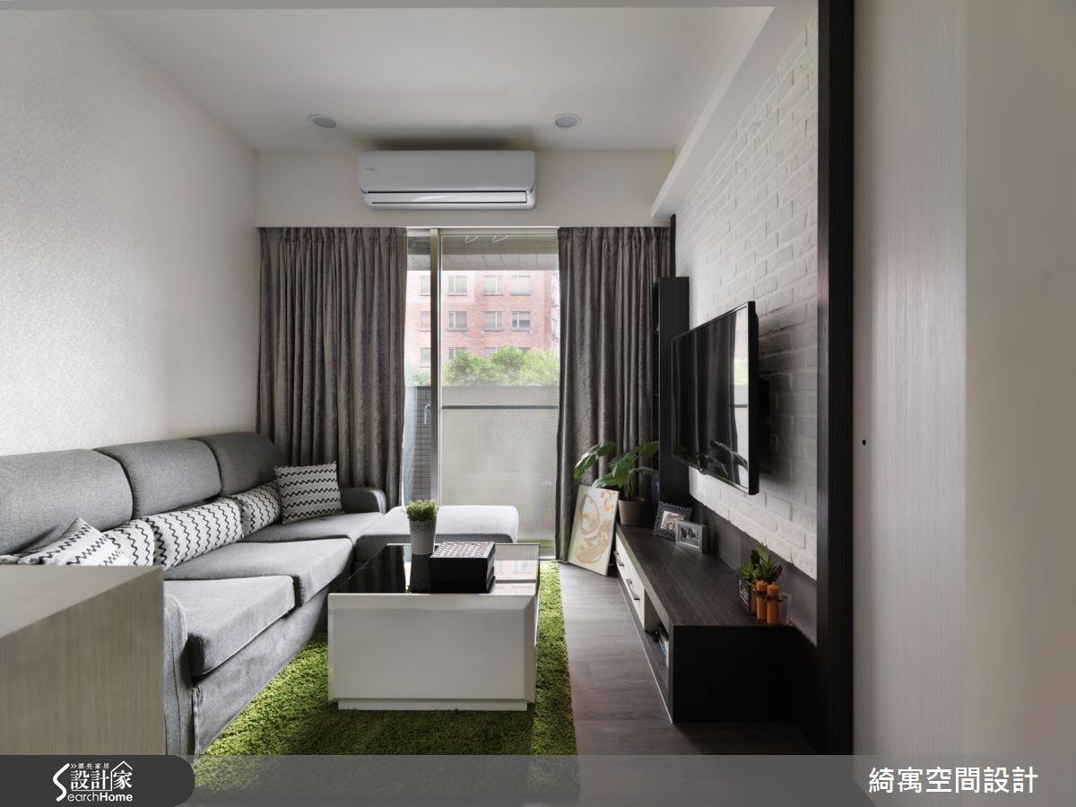 15坪中古屋(5~15年)_現代風客廳案例圖片_綺寓空間設計_綺寓_13之2