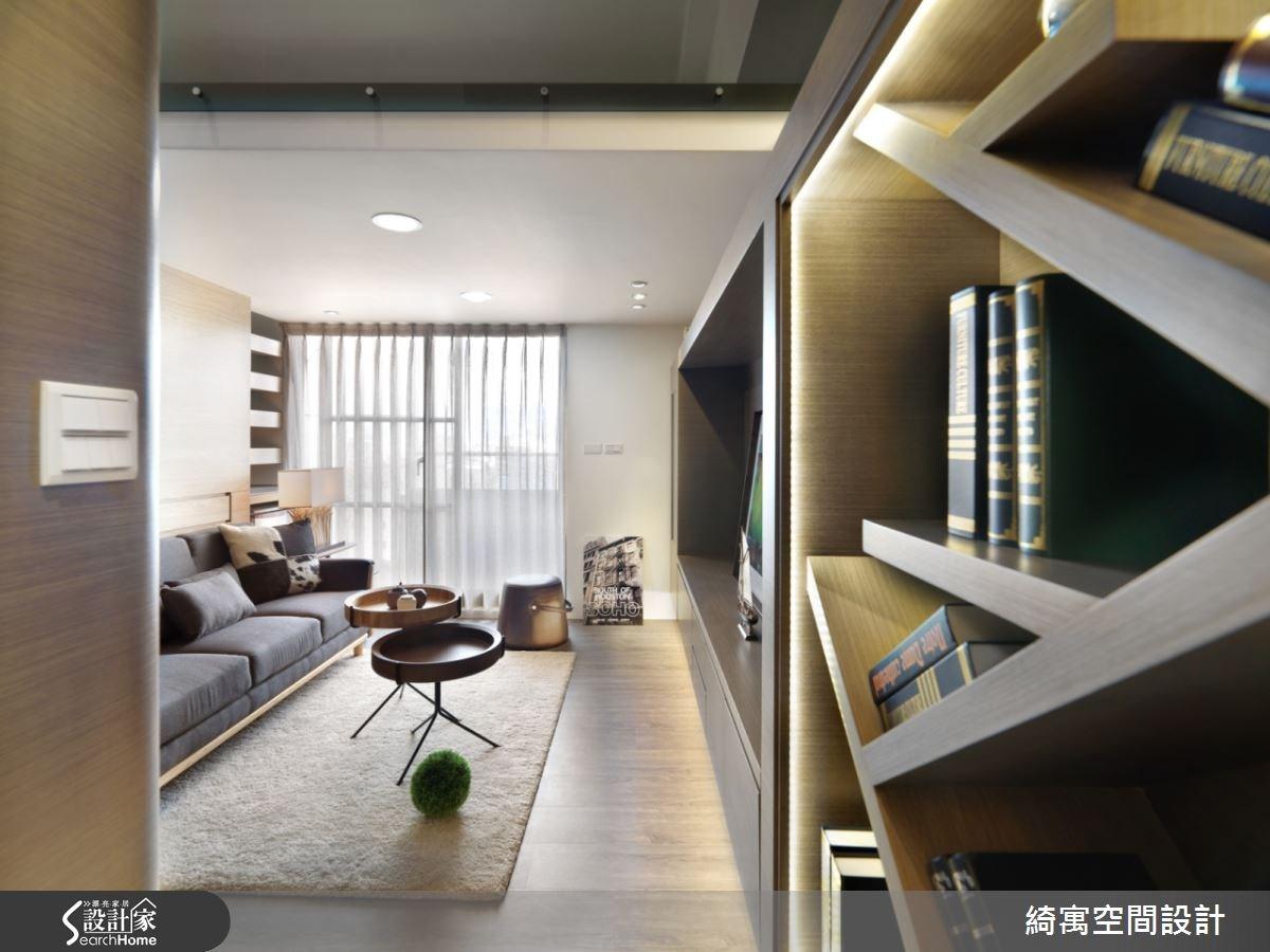 9坪新成屋(5年以下)_北歐風客廳案例圖片_綺寓空間設計_綺寓_14之2
