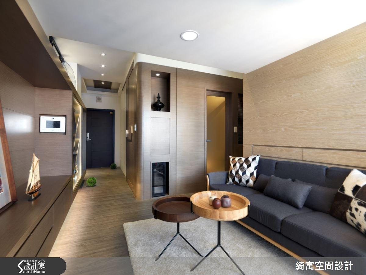 9坪新成屋(5年以下)_北歐風客廳案例圖片_綺寓空間設計_綺寓_14之6