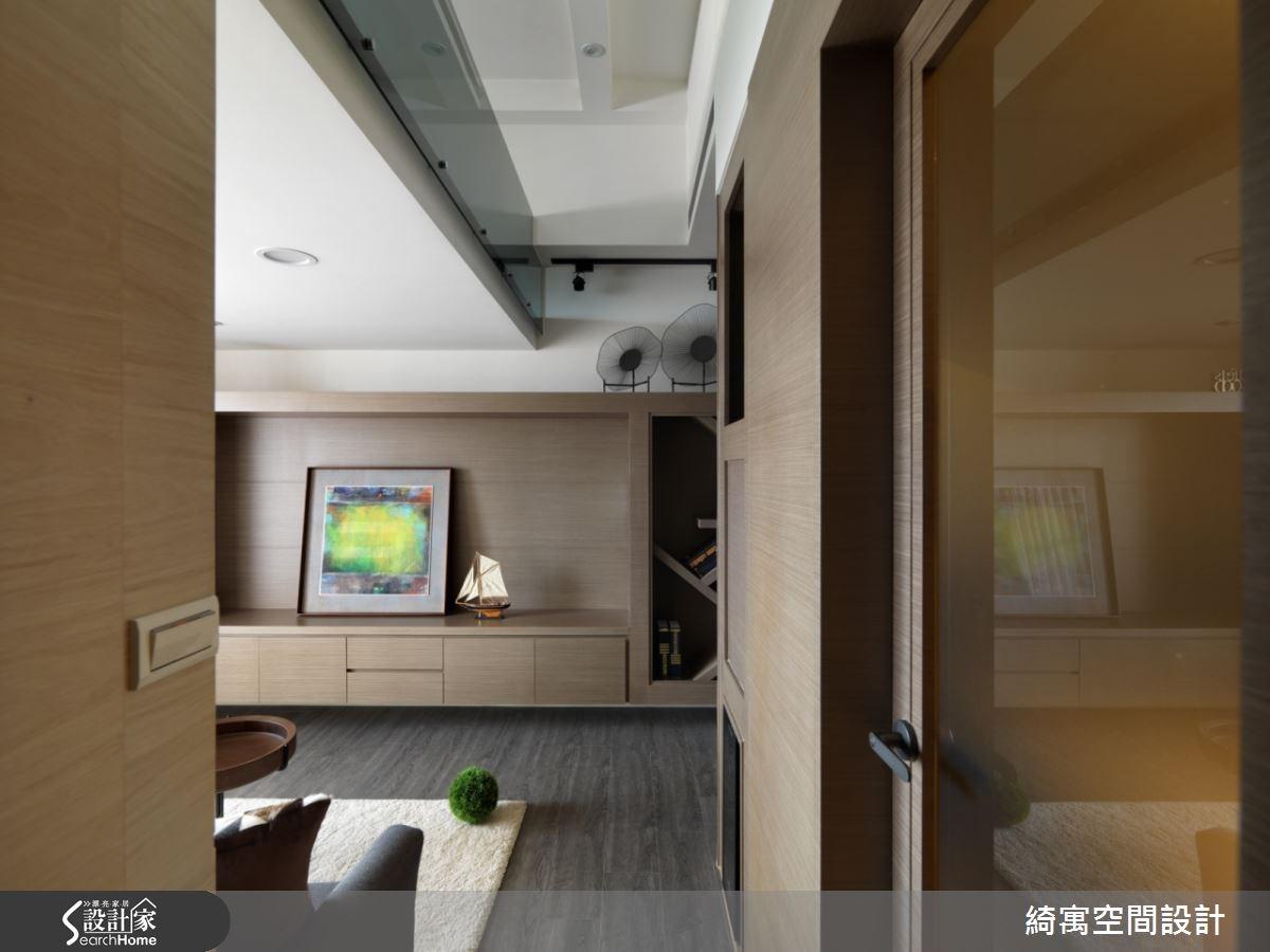 9坪新成屋(5年以下)_北歐風客廳案例圖片_綺寓空間設計_綺寓_14之7