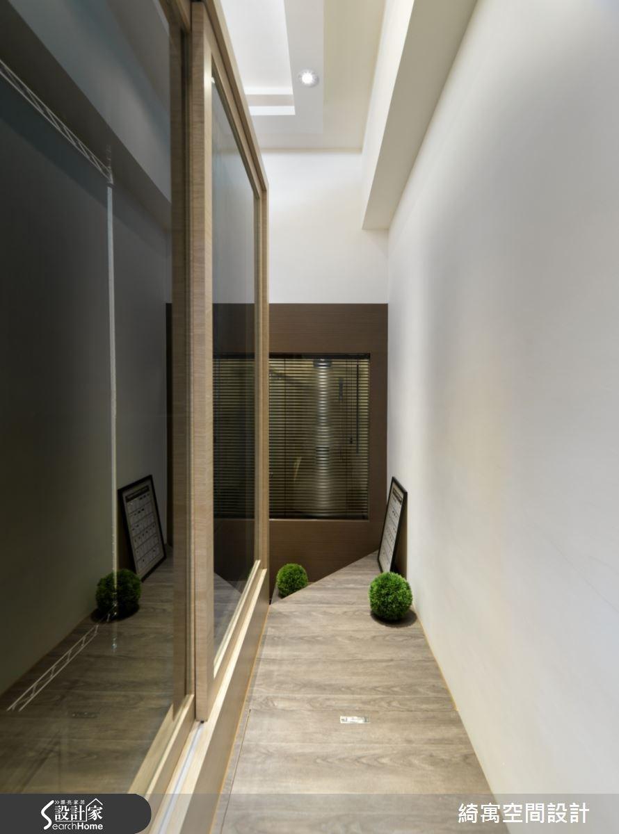 9坪新成屋(5年以下)_北歐風走廊案例圖片_綺寓空間設計_綺寓_14之8