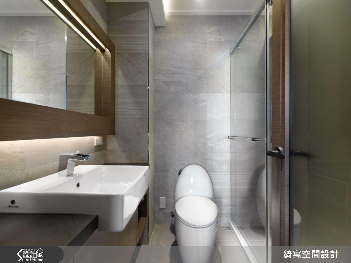 9坪新成屋(5年以下)_北歐風浴室案例圖片_綺寓空間設計_綺寓_14之11