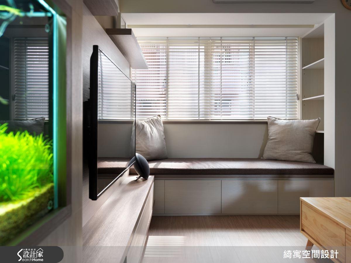 26坪老屋(16~30年)_北歐風客廳案例圖片_綺寓空間設計_綺寓_16之3