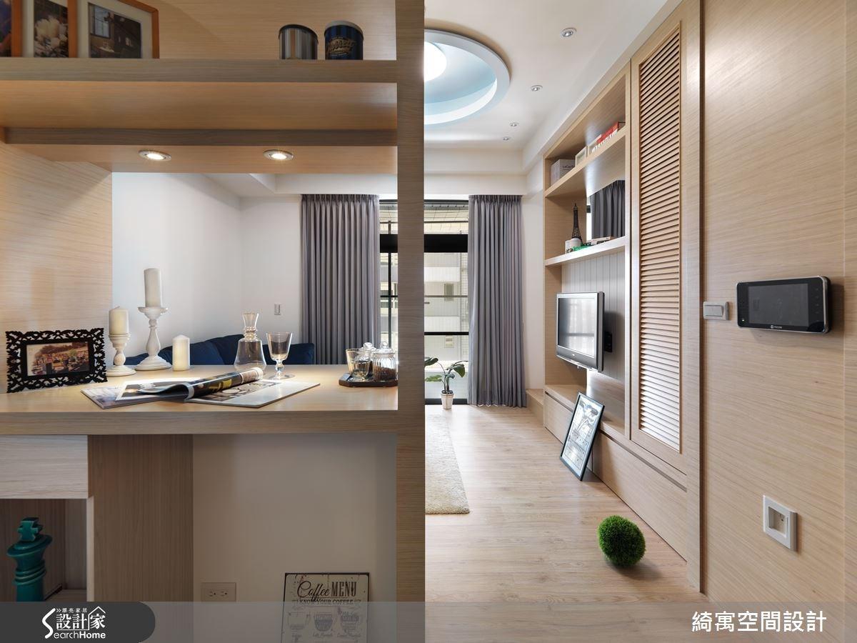 9坪新成屋(5年以下)_北歐風客廳案例圖片_綺寓空間設計_綺寓_18之2