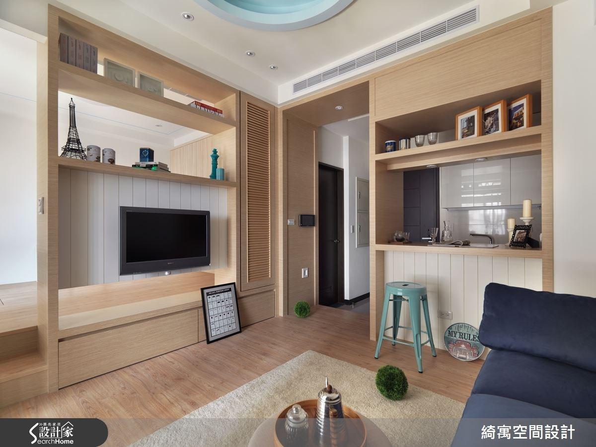 9坪新成屋(5年以下)_北歐風客廳案例圖片_綺寓空間設計_綺寓_18之3