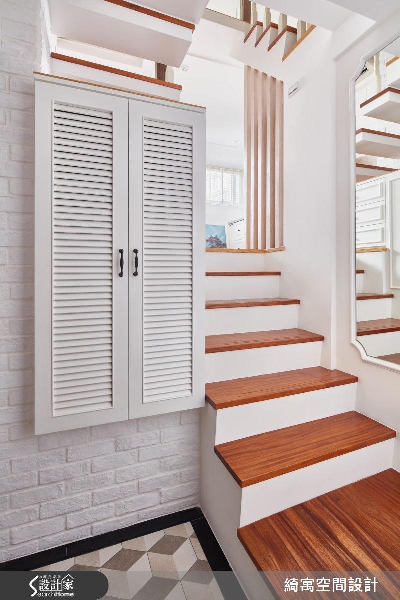 11坪老屋(16~30年)_美式風走廊案例圖片_綺寓空間設計_綺寓_19之1