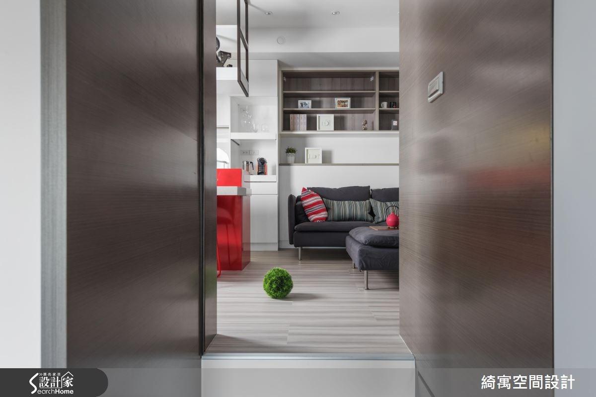 12坪新成屋(5年以下)_現代風玄關吧檯走廊案例圖片_綺寓空間設計_綺寓_20之5