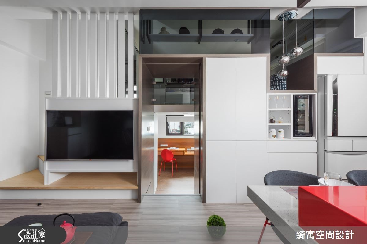 12坪新成屋(5年以下)_現代風走廊案例圖片_綺寓空間設計_綺寓_20之6