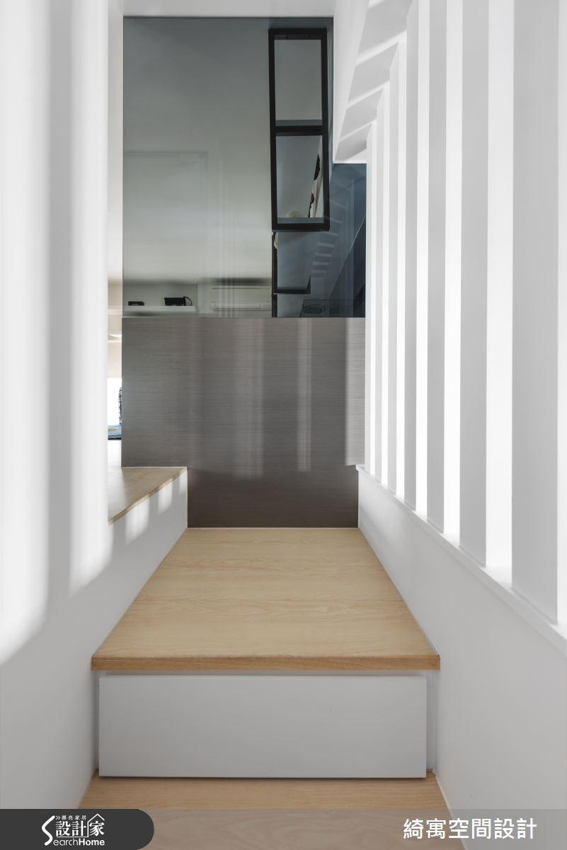12坪新成屋(5年以下)_現代風樓梯案例圖片_綺寓空間設計_綺寓_20之8