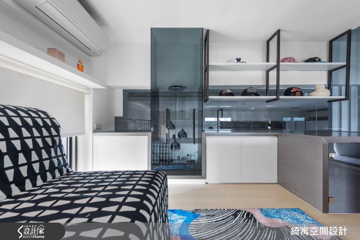12坪新成屋(5年以下)_現代風更衣間案例圖片_綺寓空間設計_綺寓_20之9