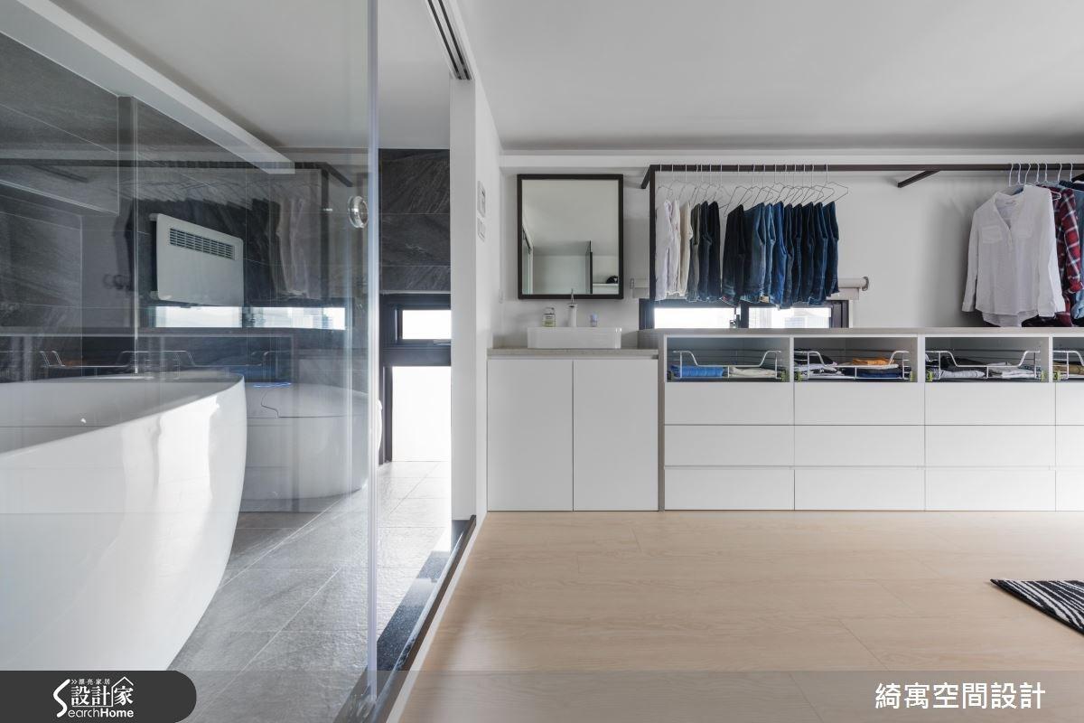 12坪新成屋(5年以下)_現代風更衣間浴室案例圖片_綺寓空間設計_綺寓_20之10