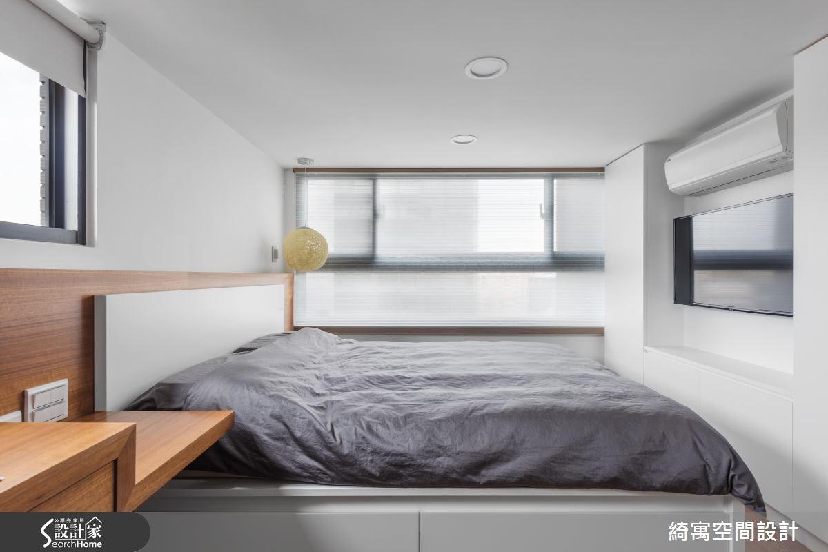 12坪新成屋(5年以下)_現代風臥室案例圖片_綺寓空間設計_綺寓_20之12