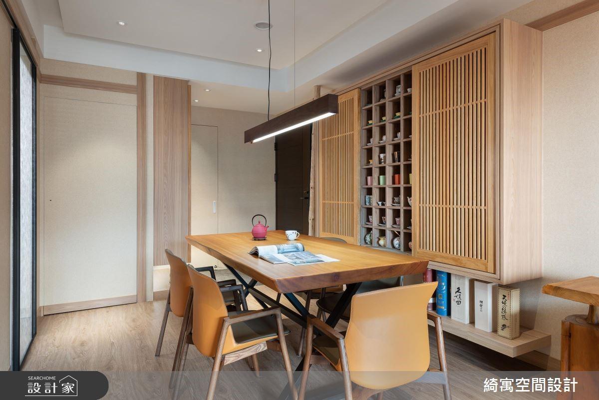 18坪新成屋(5年以下)_人文禪風餐廳案例圖片_綺寓空間設計_綺寓_24之3
